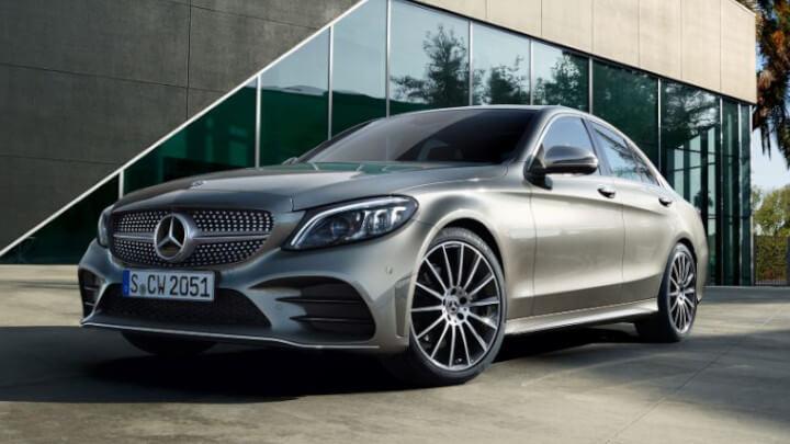 Mercedes-Benz C-Class Saloon Front