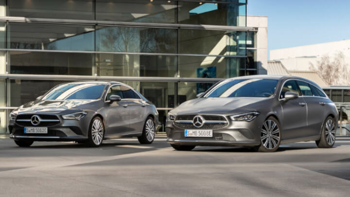 Mercedes-Benz CLA Coupé PHEV and CLA Shooting Brake PHEV