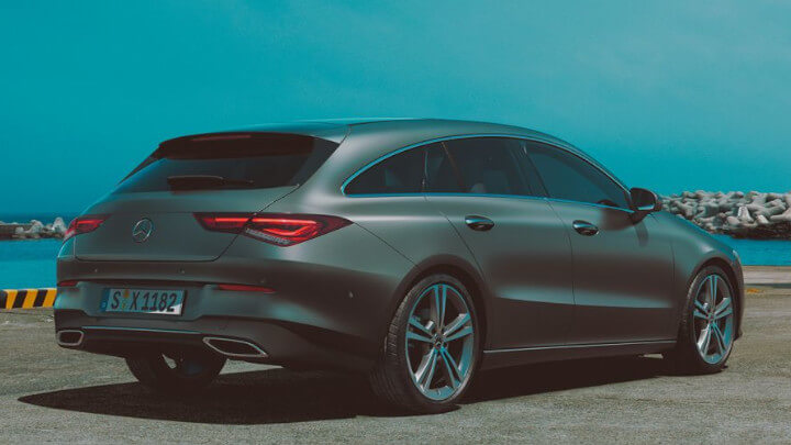 Mercedes-Benz CLA Shooting Brake Rear
