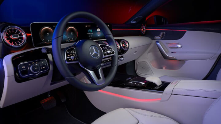 Mercedes-Benz CLA Coupe Interior