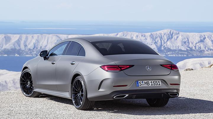 Mercedes-Benz CLS Exterior, Rear