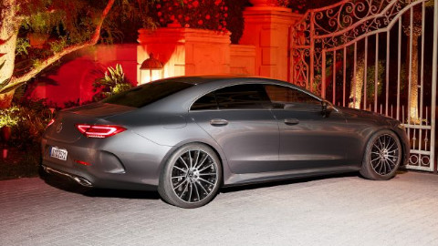 Mercedes-Benz CLS on a Driveway