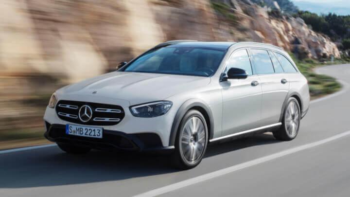 2021 Mercedes-Benz E-Class All-Terrain Front