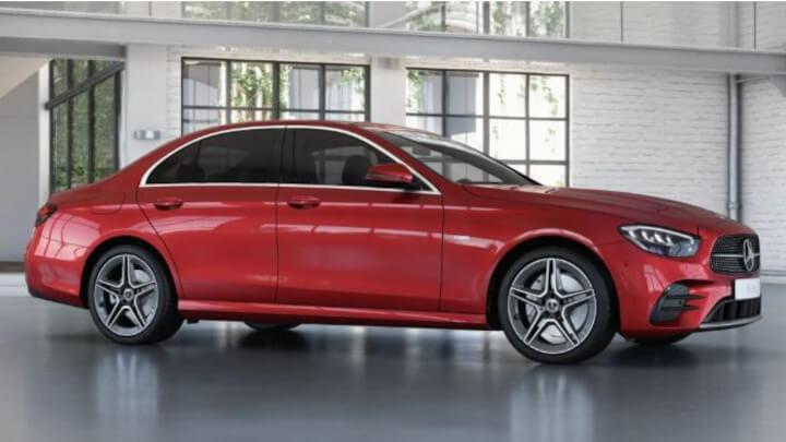 2021 Mercedes-Benz E-Class AMG-Line Edition Trim