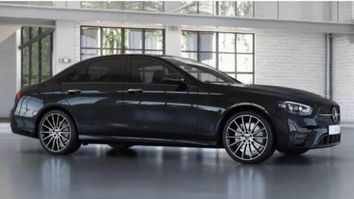 2021 Mercedes-Benz E-Class AMG-Line Night Edition Trim