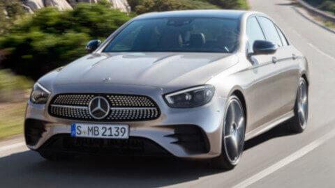 2021 Mercedes-Benz E-Class Front Driving