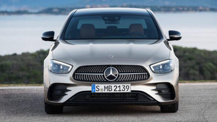 2021 Mercedes-Benz E-Class Front Stationary