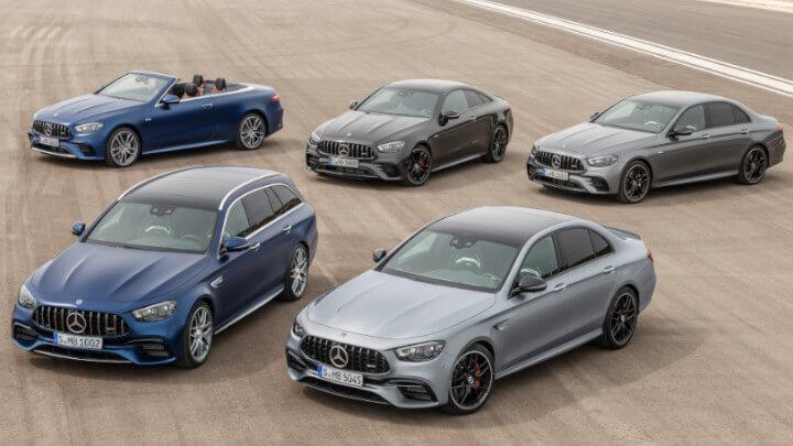 Mercedes-AMG E-Class Range