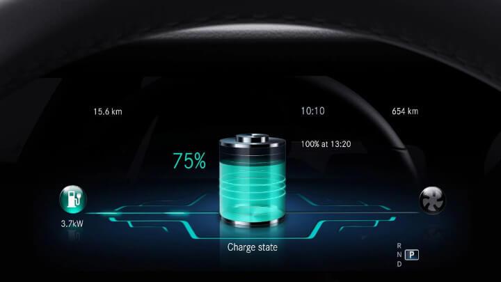 Mercedes-Benz E-Class Charging