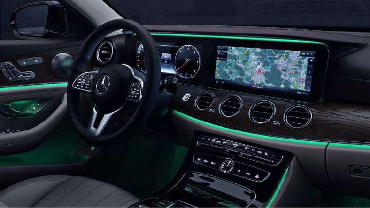 Mercedes-Benz E-Class Interior Technology
