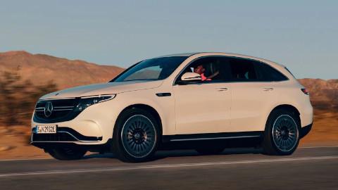 Mercedes-Benz EQC Driving