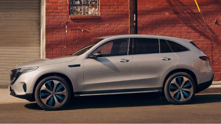 Mercedes-Benz EQC Side