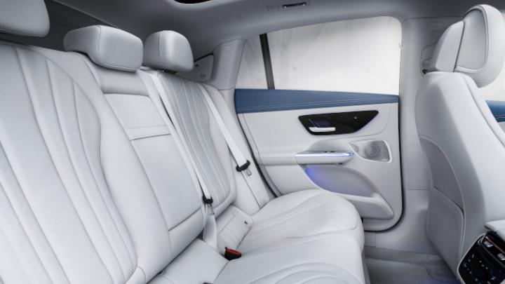 Mercedes-Benz EQE Rear Interior