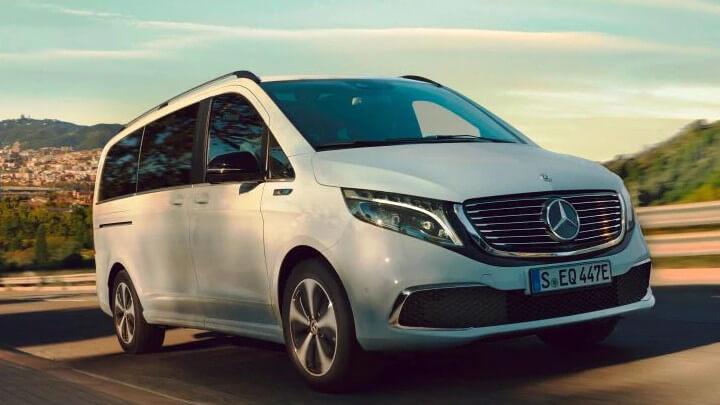 Mercedes-Benz EQV Driving