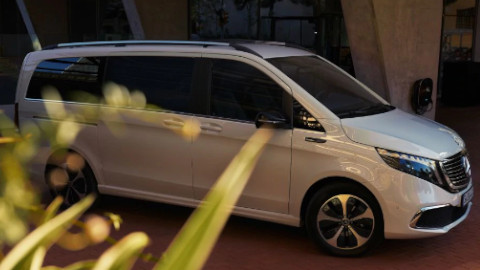 Mercedes-Benz EQV Side