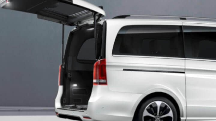 Mercedes-Benz EQV Easy Pack Tailgate