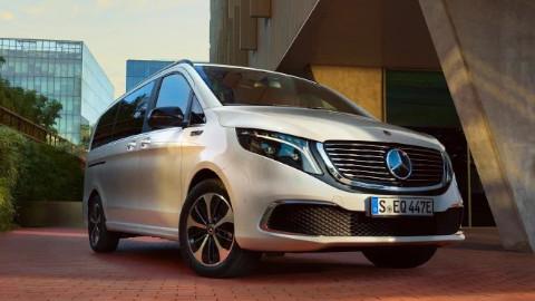 Mercedes-Benz EQV Front