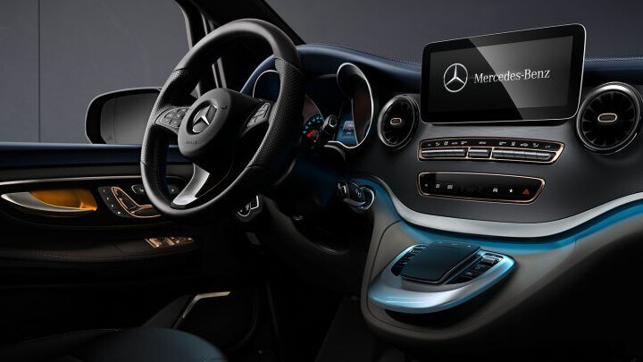 Mercedes-Benz EQV Interior Front