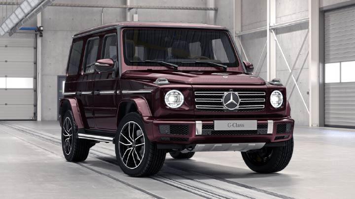 Mercedes-Benz G-Class AMG Line Premium Plus