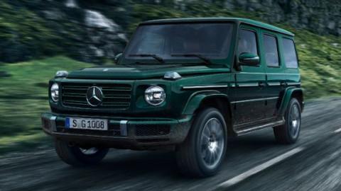 Mercedes-Benz G-Class Driving