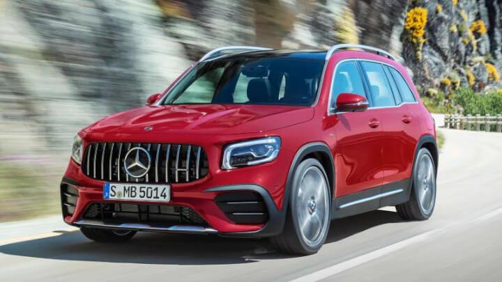 Mercedes-AMG GLB Front