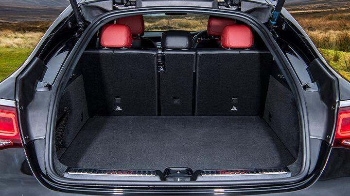 Mercedes-Benz GLC Coupé Cargo Space