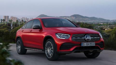 Mercedes-Benz GLC Coupé Driving