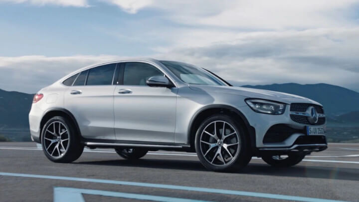 Mercedes-Benz GLC Coupe Driving
