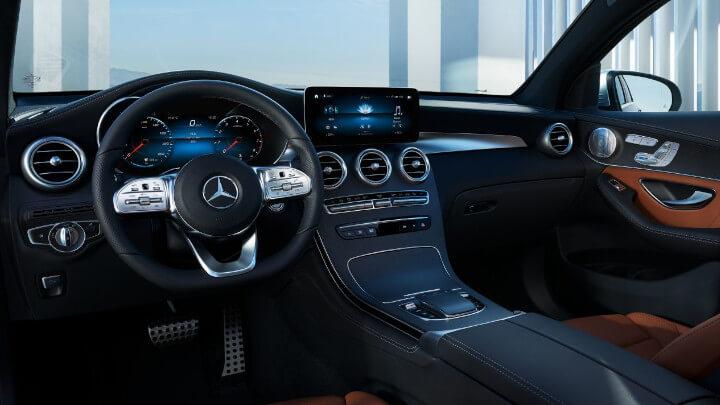 Mercedes-Benz GLC Coupe PHEV Interior