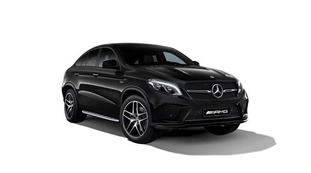 Mercedes-Benz GLE-Class in black.