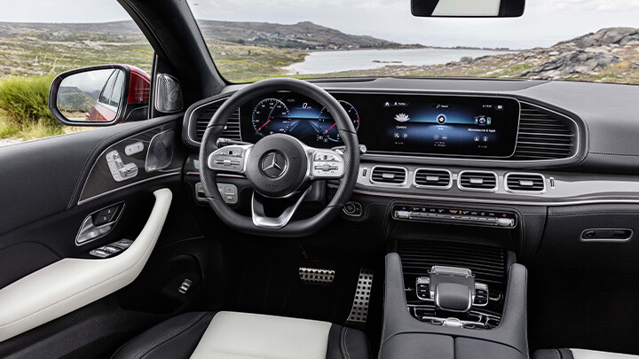 Mercedes-Benz GLE Coupé Interior
