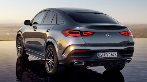 GLE Coupe, Driving
