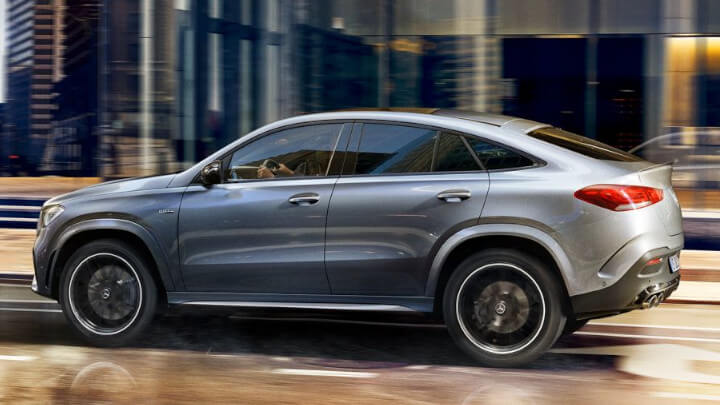 Mercedes-Benz GLE Coupe Driving
