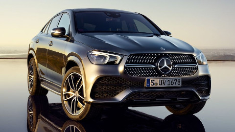 GLE Coupe, Exterior