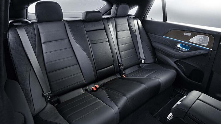 Mercedes-Benz GLE Coupé Interior, Rear Seats