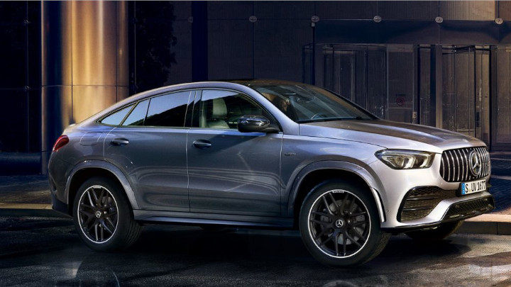 Mercedes-Benz GLE Coupe Side