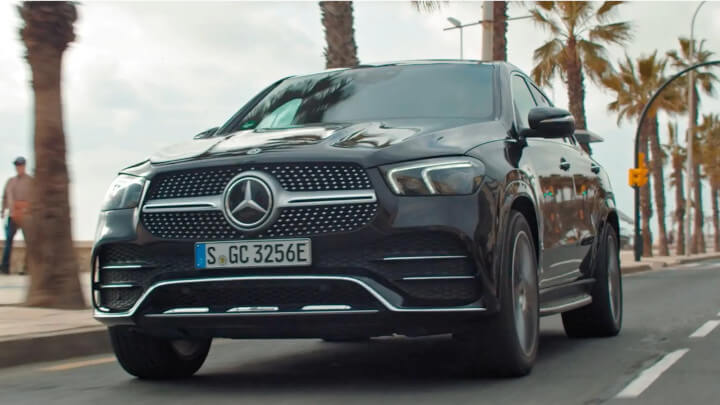 Mercedes-Benz GLE Coupe PHEV Driving