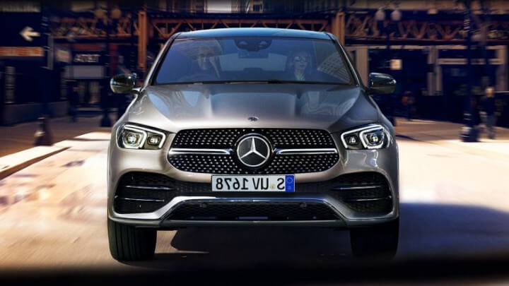 Mercedes-Benz GLE Coupe PHEV Front