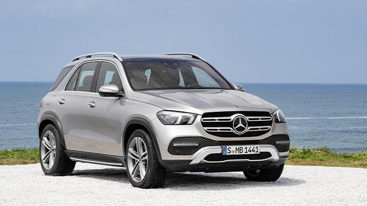 Mercedes-Benz GLE Exterior, Front