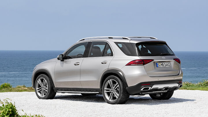 Mercedes-Benz GLE Exterior, Rear