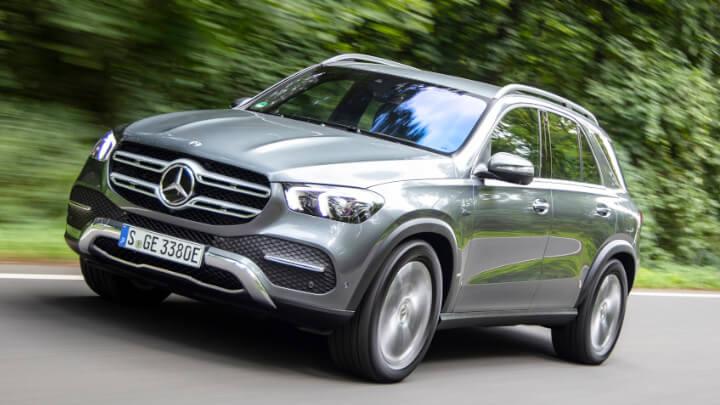 Mercedes-Benz GLE PHEV Driving
