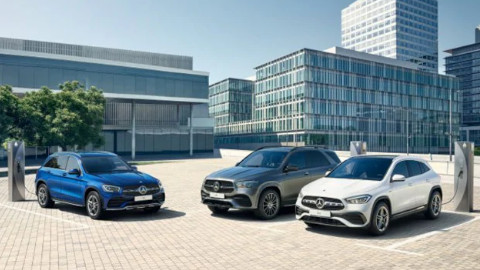Mercedes-Benz PHEV Range