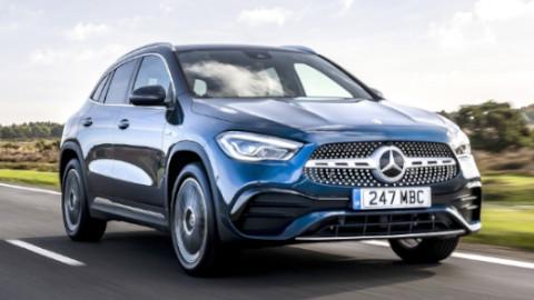 Mercedes-Benz GLA Plug-in Hybrid Front
