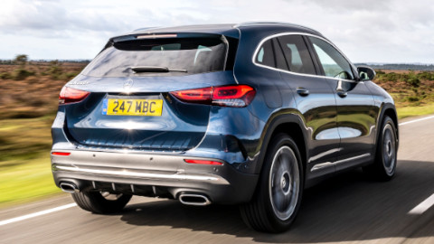 Mercedes-Benz GLA Plug-in Hybrid Rear