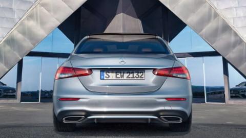 Mercedes-Benz E-Class Saloon PHEV Rear
