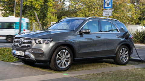 Mercedes-Benz GLE PHEV Charging