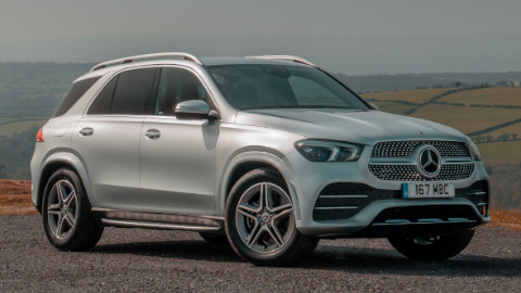 Mercedes-Benz GLE Front