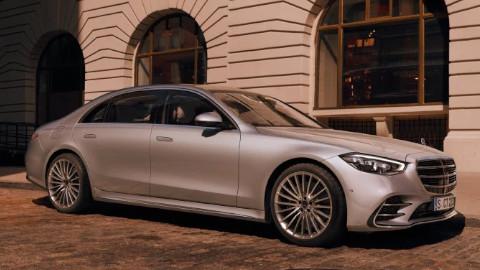 Mercedes-Benz S-Class Saloon Front