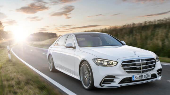 2021 Mercedes-Benz S-class Front Sunshine