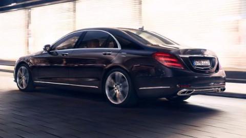 Mercedes-Benz S-Class Driving